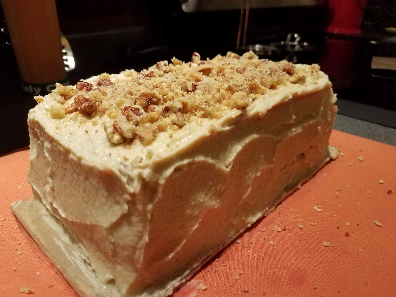 No Bake Carrot Cake Picture